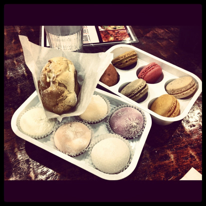 Macaroons & Mochi Ice Cream On The Menu