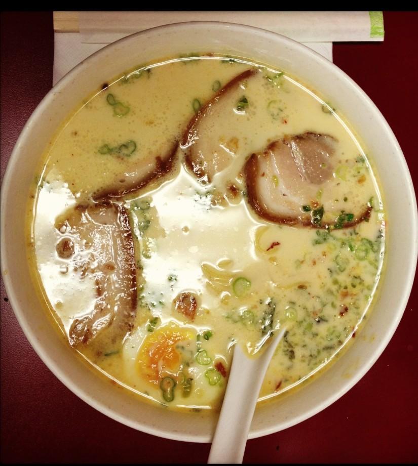 Tonkatsu Ramen w/ Extra Chashu (Pork)