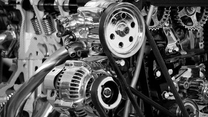 black-and-white-car-engine-chrome-190574